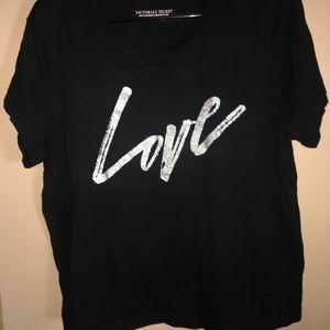 Victoria's Secret black shirt xl
